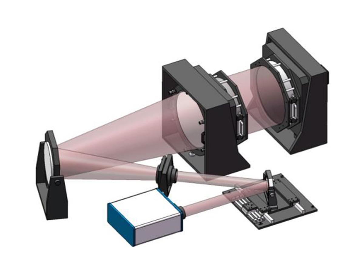 大口径激光干涉仪
