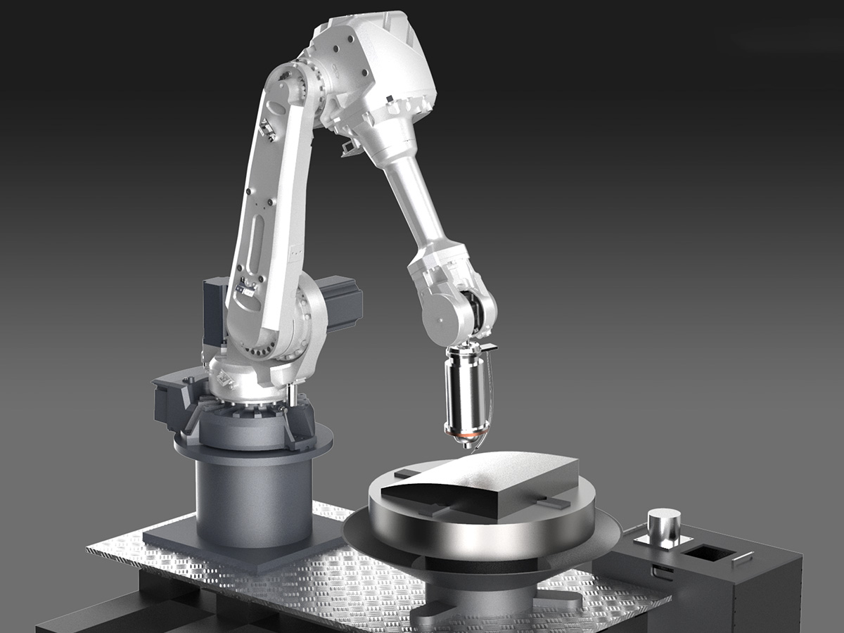 机器人研抛一体机
